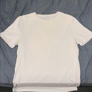 Mens APT 9 Plain Creme Shirt